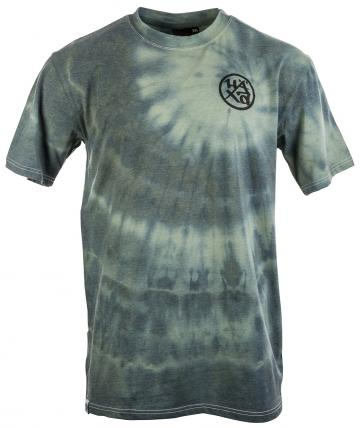 Tee Circle Logo fish tie dye