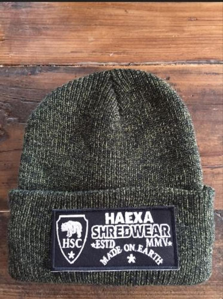 BEANIE PATCH GREEN