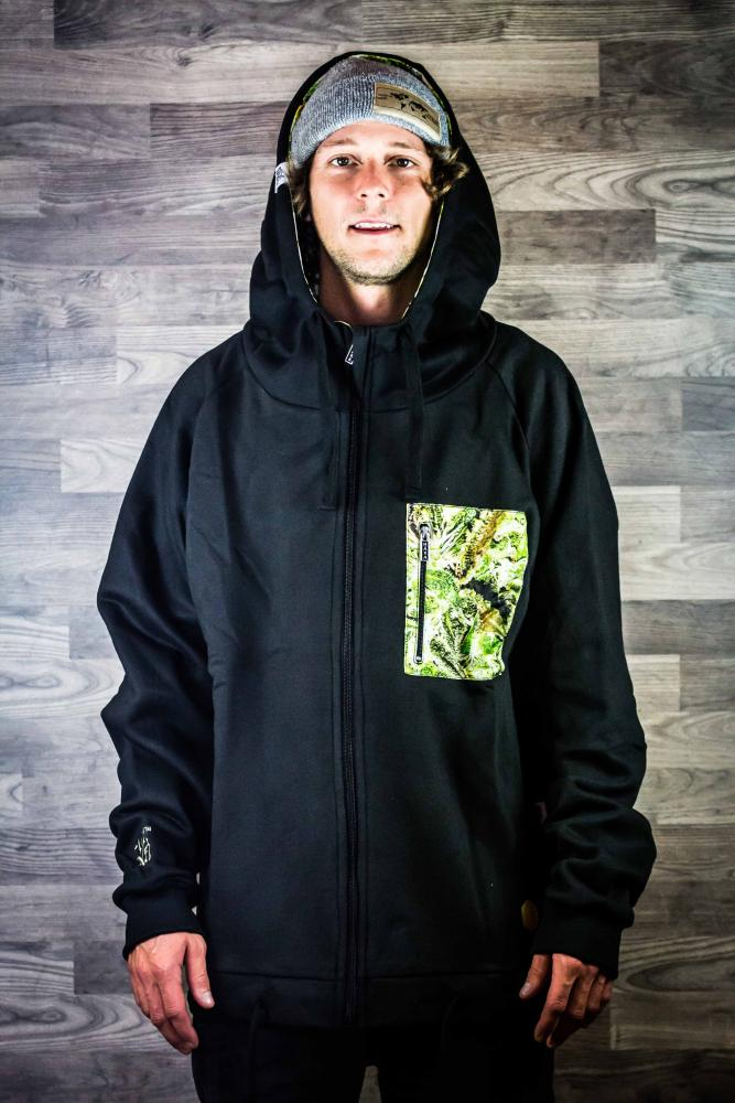 Hooded Zipper Middlepeak